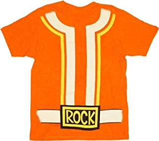 DJ Lance Costume Adult Orange T-shirt