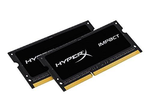 HyperX Impact HX321LS11IB2K2/8 Arbeitsspeicher 2133 MHz DDR3L CL11 SODIMM 1.35 V, 8GB Kit (2x4GB)