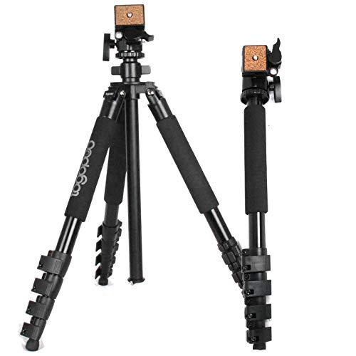 togopod PAT Multifunktion Stativ mit Einbein - Fotostativ to go - Kamerastativ PAT mit Einbein 49cm 170cm 2,2kg