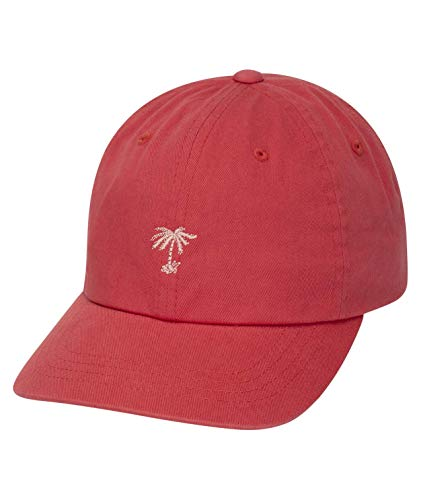 Hurley W Fronds Dad Hat Gorras, Mujer, Pink Gaze, 1SIZE