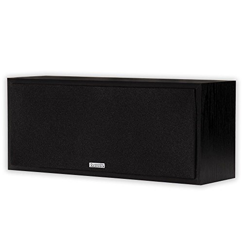 Acoustic Audio PSC-43 Center Channel Speaker 150 Watt 3-Way Home Theater Audio
