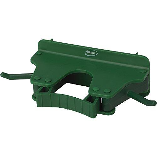 キョーワクリーン 本体 緑 横幅:16cm Vikan(ヴァイカン)ブラケット 3個掛け 10172