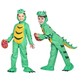 Twister.CK Kids Dinosaur Costume for Halloween Dinosaur Dress Up Party and Role Play,Available in 3 Kids Sizes T S M