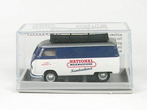 41EC8JnT3dL - Brekina VW T1a Kasten National Melkmaschine Kundendienst - 1:87