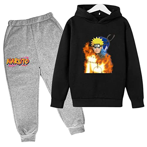 Boys Girls Cloths Sweater and Sweatpants Tracksuit Sets Jogger Pant Set for Boys Girls Casual 2 Piece Sweatshirt Set Hoodies 11-12 Years Colour 8