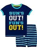 Harry Bear Pijama Corta para niños Verano Azul 6-7 Años