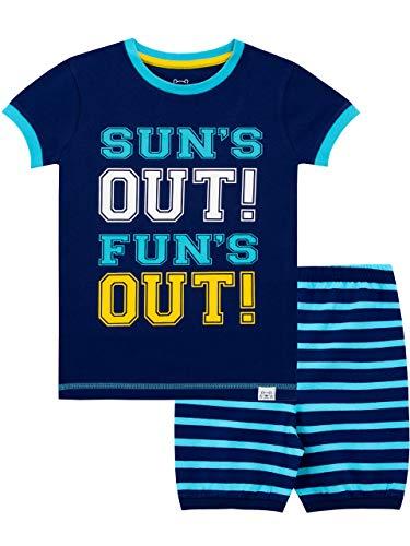 Harry Bear Pijama Corta para niños Verano Azul 11-12 Años