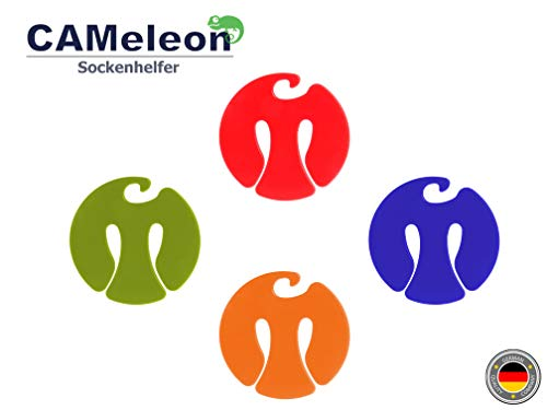 CAMeleon® Socken Organisierer für Waschmaschine und Wäsche Ständer in Einem. Nie Wieder Socken sortieren oder suchen. Der Wäsche Helfer von Heute/für jeden Haushalt. … (1 Set (6 Stück/pcs))