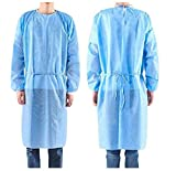 Isolation Gowns Knit Cuff One Size Fits Non-Woven, Latex Free, Splash Resistant, All Denta...