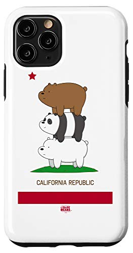 iPhone 11 Pro We Bare Bears Cali Stack Case