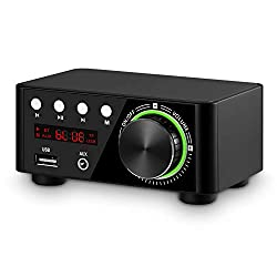 Nobsound 100W Mini Bluetooth 5.0 Po Hi-Fi Stereo Wireless Receiver
