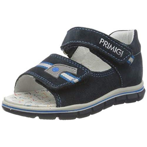 PRIMIGI Sandalo Primi Passi Bambino, Blu Navy 5367200, 18 EU