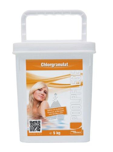 Steinbach Poolchemie Chlorgranulat organisch, Aquacorrect, 5 kg