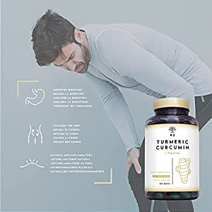 Turmeric Capsules High Strength. 95% Curcumin (760mg 2 caps daily )with Black Pepper. Anti-inflammatory Antioxidant Hepatoprotective Max Digestion. 90 Capsules.UK Vegan Certified. N2 Natural Nutrition