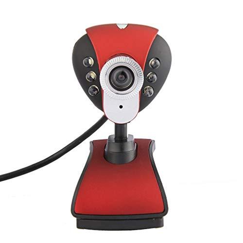 Faiol Web 720P HD Fotocamera Computer Webcam USB Incorporato fonoassorbenti Microfono 360 Gradi di Rotazione