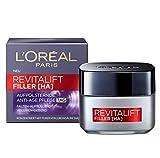 L'Oréal Paris Tagespflege, Revitalift Filler, Anti-Aging Gesichtspflege, Anti-Falten und Volumen, Hyaluronsäure-Konzentrat, 50 ml