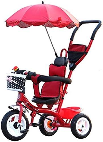 BZEI-BIKE Kinder Dreiradwagen Kinderwagen Kinderfürr r 3 R r, Rot fürrad    Kinderspielzeug