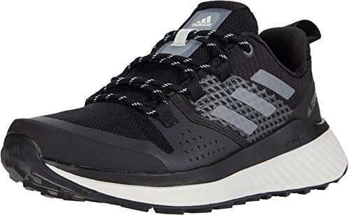 Adidas Terrex Folgian Bottes de randonnée pour femme, Noir (Noir/gris/vert.), 40.5 EU