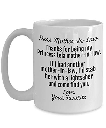 Mother of The Groom Gifts - Star Wars Fan STAB Lightsaber - Mother in Law Gift from Daughter in Law - Cute Funny Wedding Present from Bride Daughter