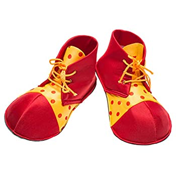 Unisex Performance Shoes Suitable for Clowns Halloween,Birthday,Holiday Party  Small Size