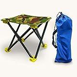 Woodtree Hocker Camping Folding Mini Outdoor-Camping-Kleine Stuhlsitzschemel Angeln Barbecue Grill Garten und Wandern Beach-Reisen