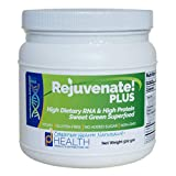 REJUVENATE! Plus (500 gm) – Sweet Green, High-RNA Superfood – High Levels of Dietary Nucleic Acids, Chlorella, Spirulina, Quality Protein | Built-in Multivitamin-Multimineral Complex | D-Ribose