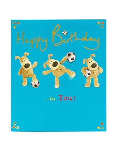 Boofle Spelen Voetbal - Gelukkige Verjaardag aan U - Open Card
