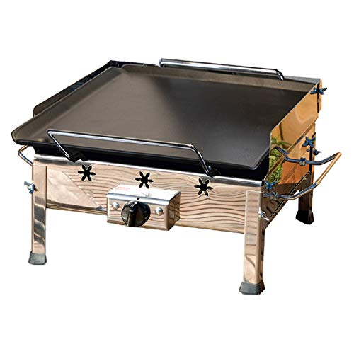 Plancha Inox - Barbacoa de mesa a gas