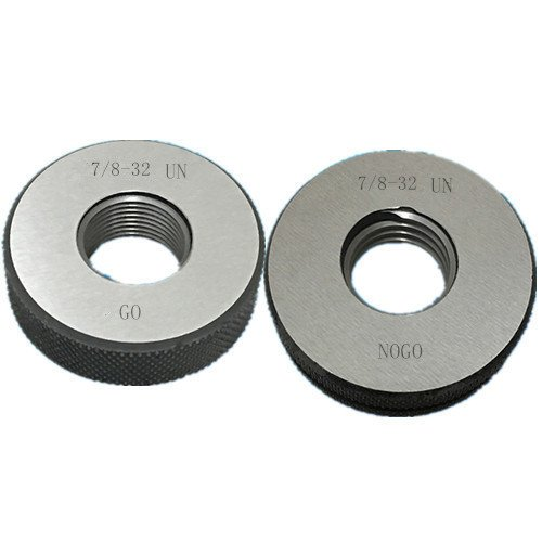 7 8-32 Many popular brands UN Thread Ring Gage 2A by Calibrated Credence Fe NOGO 100% GO Ship