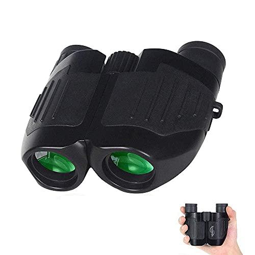 YANGHAO-Telescopio de alta definición y alta poten Binoculares de alta potencia, binoculares para adultos binoculares compactos para conciertos de viaje, cruceros, juegos deportivos, observación de av