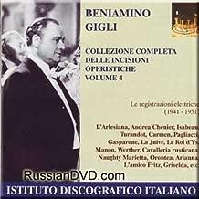 Collezione Completa Delle Incisioni Operistiche - Beniamino Gigli, Vol. 4 (2 CD Set)
