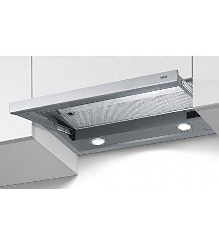 Best – Campana extractora Grupo integrado Arno met 60 de cristal y barnizado de 60 cm: Amazon.es: Hogar