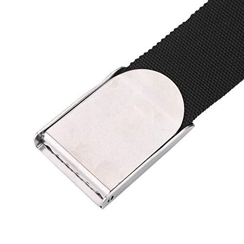 Cinturón de peso para buceo, cinturón de bloque de plomo para mantener el esnórquel, cinta de buceo duradera, cinturón de cintura de 59 pulgadas, accesorio de buceo seguro, equipo de soporte de peso,