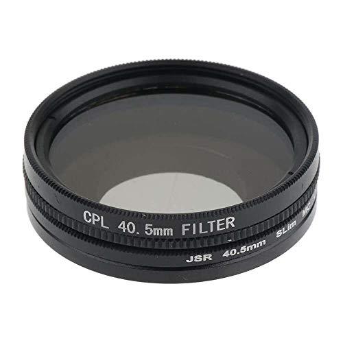 Yuyanshop Filtro UV CPL de 40,5 mm + anillo adaptador + tapa de lente para SJ8 Air Pro