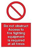 """Viking signos fv364-a2p-v""""no obstruir el"""
