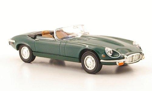 Jaguar E-Type Roadster, DKL.-grün, 1971, Modellauto, Fertigmodell, Yat Ming 1:43