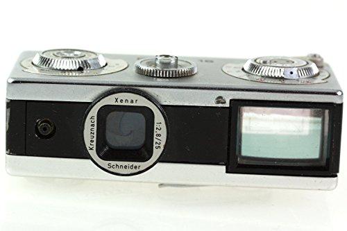 Edixa 16 Miniaturkamera Kamera mit Schneider Kreuznach Xenar 1:2.8 25mm Optik