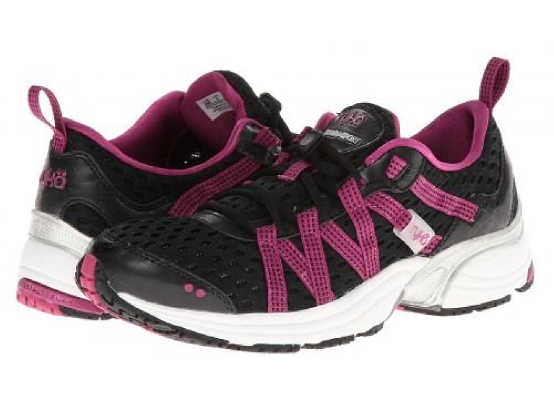 原点債権者ハリケーンRyka(ライカ) レディース 女性用 シューズ 靴 スニーカー 運動靴 Hydro Sport - Black/Berry/Chrome Silver '14 [並行輸入品]