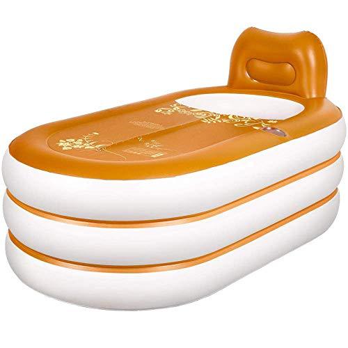 KFRSQ Opblaasbare bad voor volwassenen, milieuvriendelijk huishouden