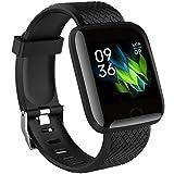 CW ITALY Smartwatch per Uomo Donna - Orologio Fitness Activity Tracker GPS Bluetooth con Saturimetro Pressione Cardiofrequenzimetro Carica USB senza Cavo - Notifiche Messaggi Social per Android iOS