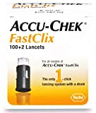 Accu-Chek FastClix Lancets, Diabetic Supplies (Pack of 102)