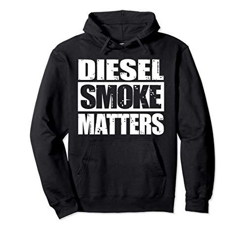 BLACK DIESEL SMOKE MATTERS, Diesel Truck Roll Coal Hoodie...