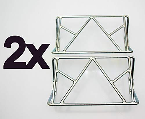 2 x Schutzgitter Anfahrschutz für Aspöck Multipoint Jokon Anhänger Rückleuchte