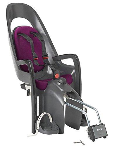 HAMAX Caress Kindersitz grau/lila - Fahrradkindersitz