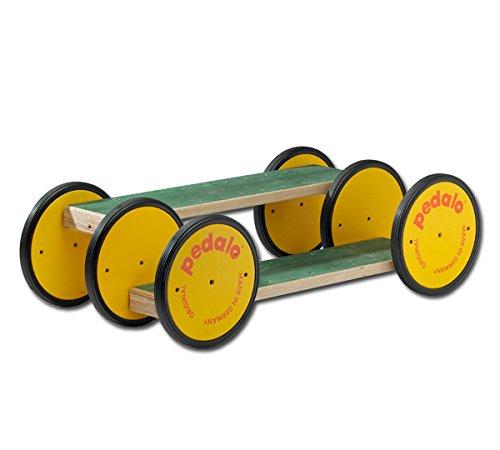 pedalo 552101 Combi Doppel Neuro-Trainer/Gleichgewichtstrainer für Koordination und Balance