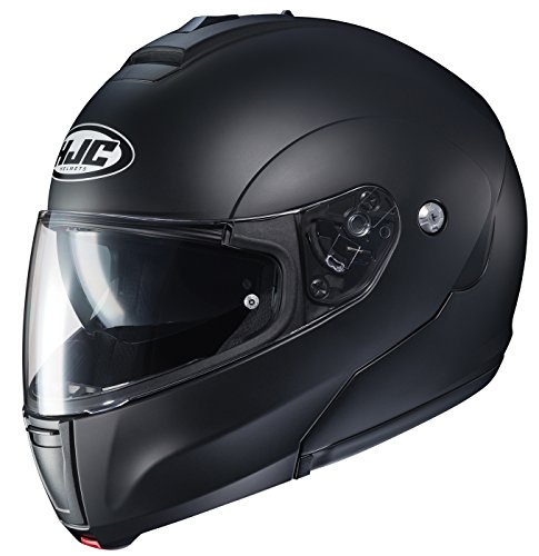 HJC Helmets Unisex-Adult flip-up-Helmet-Style CL-MAX3 Semi Flat (Black, XX-Large) Idaho