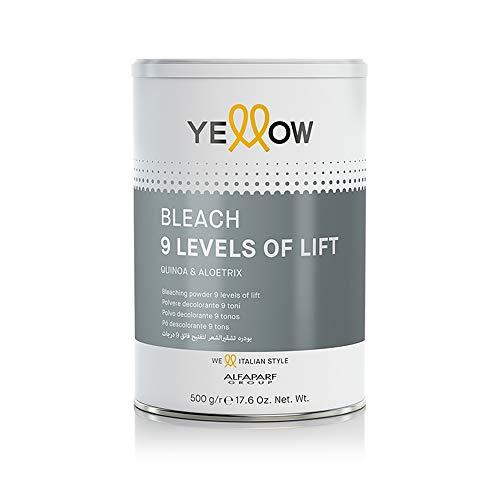 Poudre décolorante 9 tons – Bleach 9 Levels Of Lift – 500 g – Yellow (Alfaparf Group)