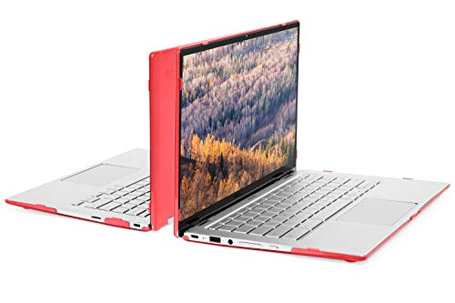 mCover Hard Shell Case for 2019 14-inch ASUS Chromebook Flip C434TA Series 2-in-1 Laptop (NOT Fitting Other ASUS chromebooks) - ASUS C434 Red