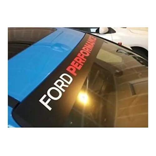 TSG Ford Performance - Tira de Sol para Ford Fiesta Focus ST Line RS Zetec S