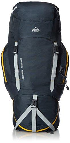 McKINLEY Trekking-Rucksack Kenai 65 +10, Navy/Gelb, 77 x 28 x 22 cm